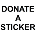 Donate a sticker to someone!